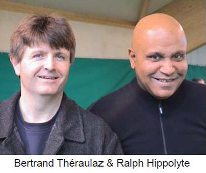 Ralph Hippolyte et Bertrand Théraulaz